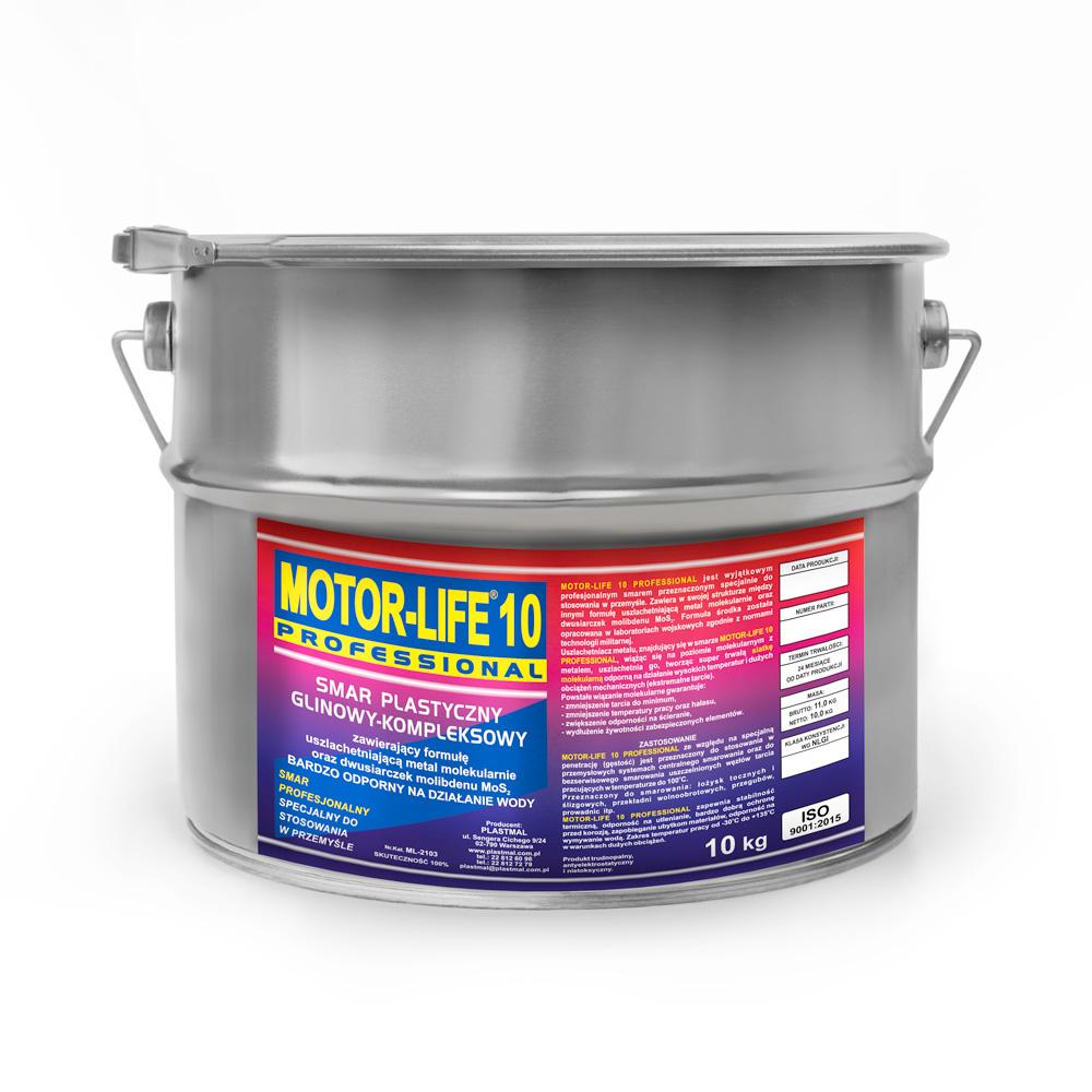 MLP 10 Smar plastyczny litowy MoS2 do centralnego smarowania 10kg