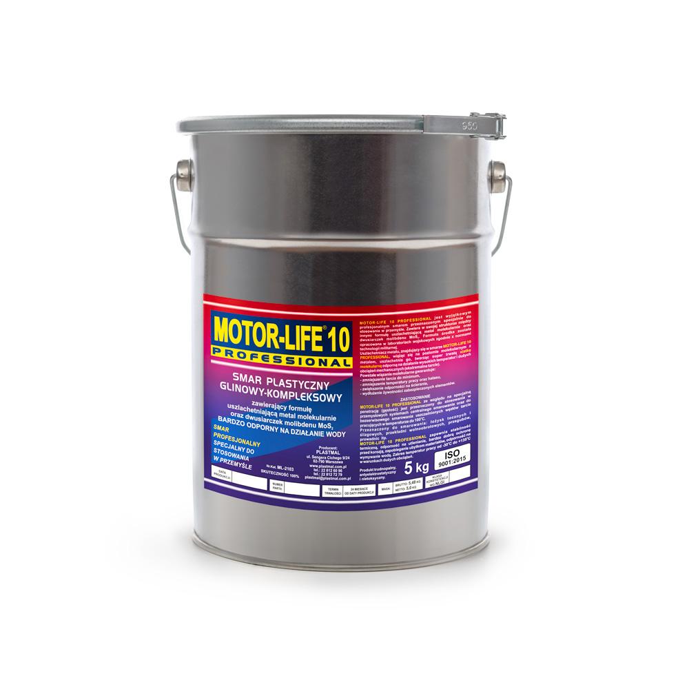 MLP 10 Smar plastyczny litowy MoS2 do centralnego smarowania-5kg