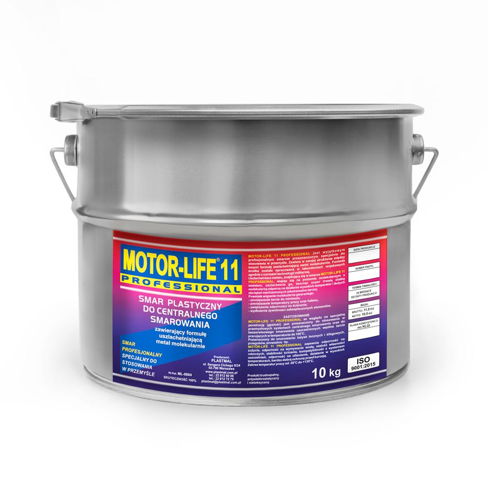 MLP 11 Smar plastyczny litowy do centralnego smarowania 10kg