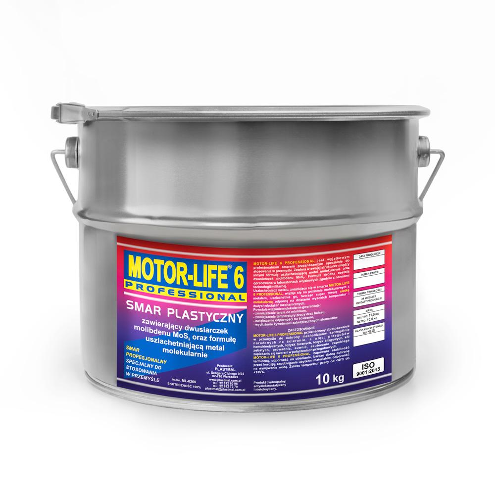 MotorLife Professional 6 Smar plastyczny litowy MoS2-10kg