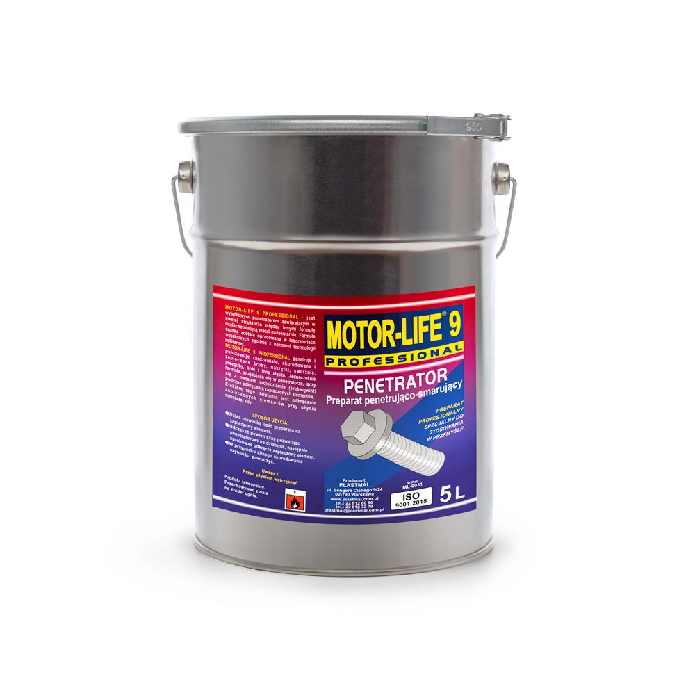 MotorLife Professional 9 Preparat penetrująco-smarujący 5kg