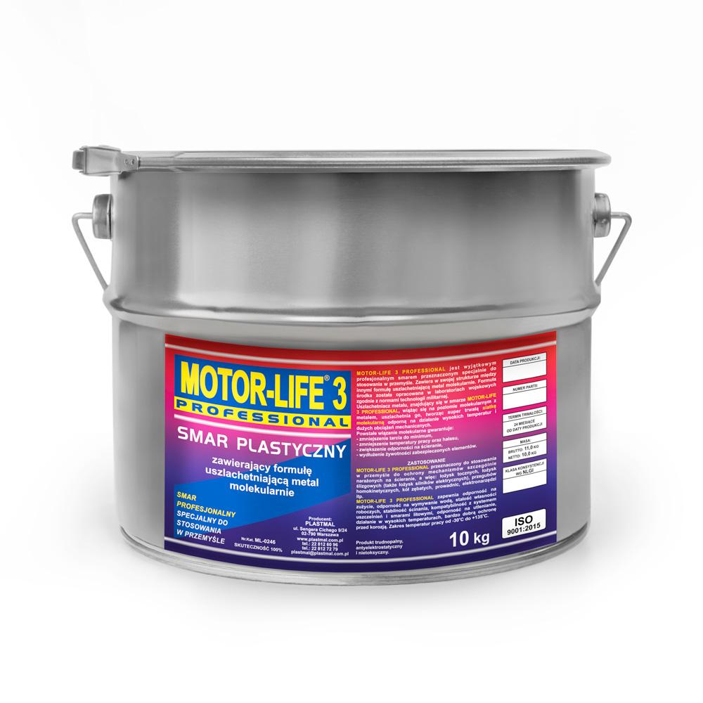 MotorLife Professional Smar Plastyczny Litowy 10kg